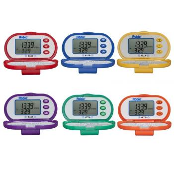 Robic M319 Pedometer - Assorted
