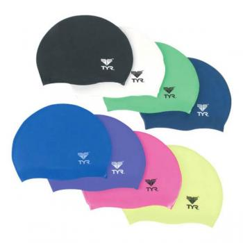 TYR Silicone Junior Caps